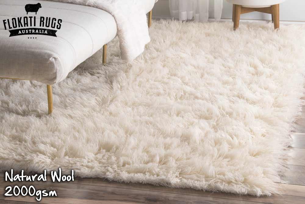 Flokati Wool Rug Natural Wool Made In Greece Shag
